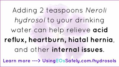 hydrosols for acid reflux