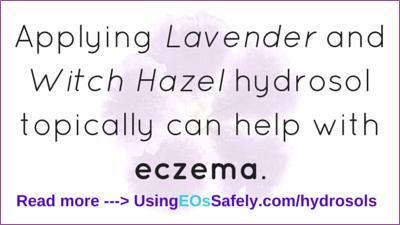 hydrosols for eczema