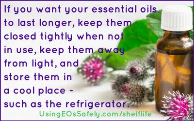Shelf Life of Essential Oils – and how to make them last