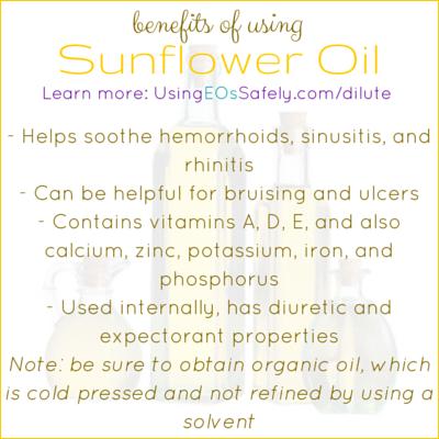 Benefits of Sunflower Oil