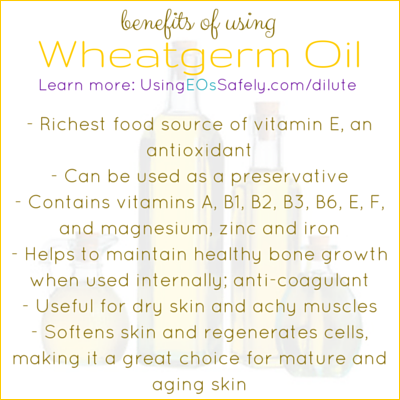 Benefits of Wheatgerm Oil