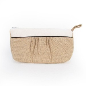 burlap bag to hold essential oil supplies