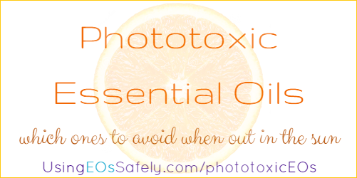 Phototoxic Essential Oils