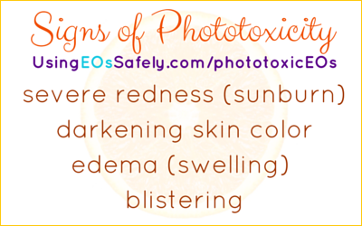 Signs of Phototoxicity