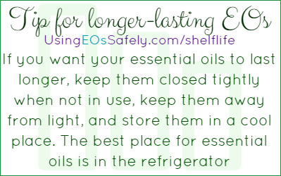 Tips for longer-lasting EOs