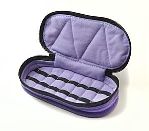 travel case for essential oils