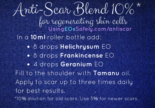 Anti-Scar blend for 10ml roller bottle