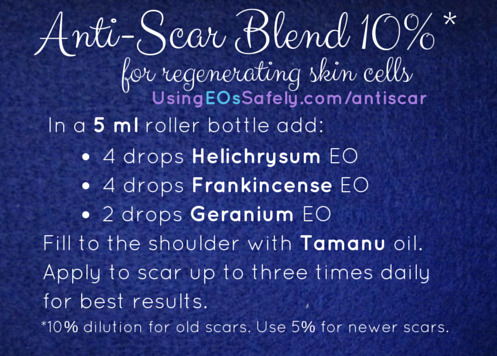 Anti-Scar blend for 5ml roller bottle