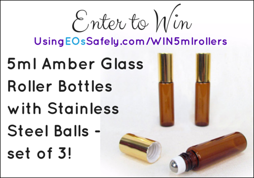 5ml amber glass roller bottleswith stainless steel balls giveaway