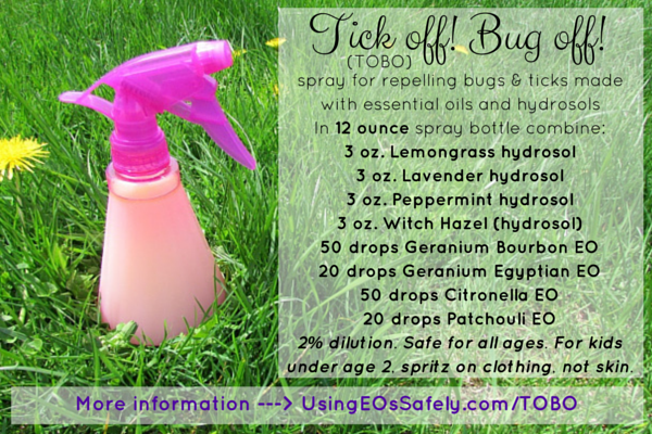 Tick Off Bug Off Tobo Spray For Repelling Bugs And