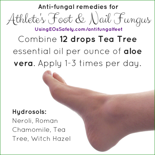 Anti-Fungal Athlete's Foot & Nail Fungus Remedy - with hydrosol options