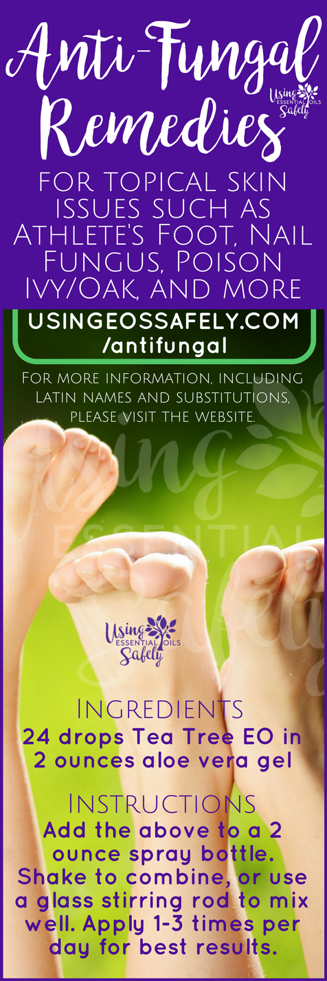 Anti-Fungal remedies for topical skin issues such as Athlete\'s Foot ...