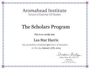 scholarscertificate