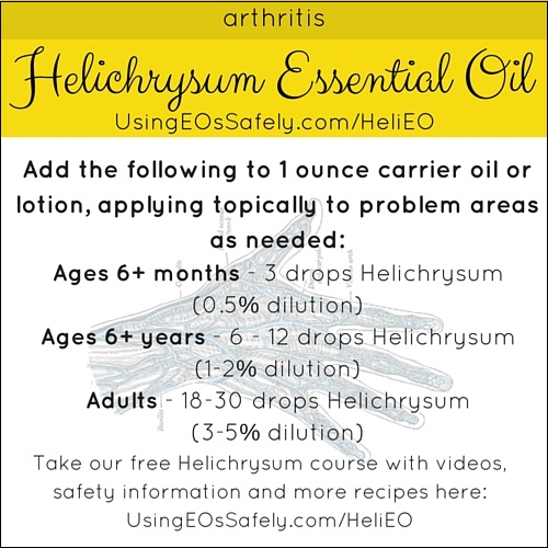 Using Helichrysum Essential Oil Safely | Using Essential