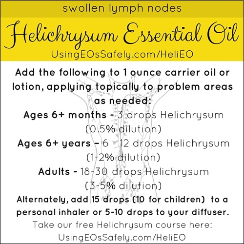 Helichrysum_Recipes_Lymph_Swollennodes