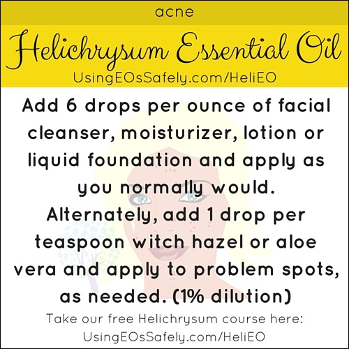Helichrysum_Recipes_Skin_Acne