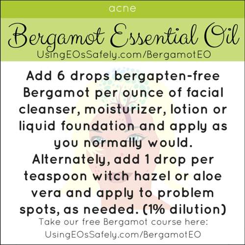 15Bergamot_Recipes_Skin_Acne
