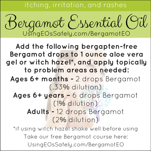 19Bergamot_Recipes_Skin_IrritationItchingRashes