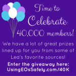 GIVEAWAY: Celebrating 40,000 Facebook Group Members!