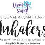 Personal Aromatherapy Inhalers