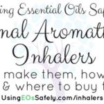 Personal Aromatherapy Inhalers