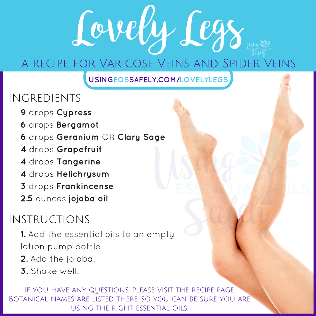 young living essential oils for varicose veins
