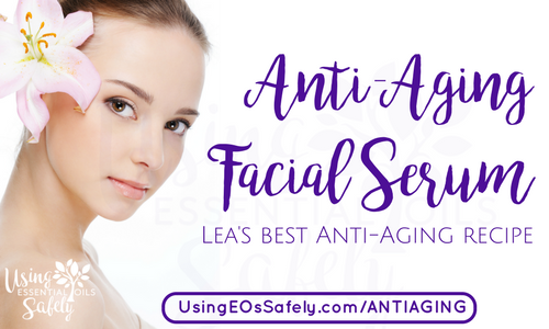 Anti-Aging Facial Serum with essential oils