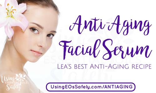 Anti-Aging Facial Serum with essential oils