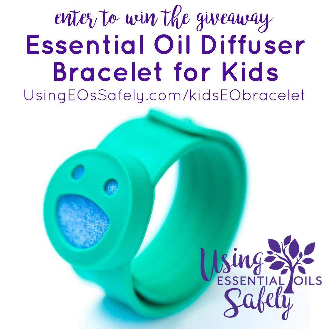 GIVEAWAY: Essential Oil Diffuser Bracelet for Kids!