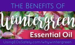 Benefits of Wintergreen Essential Oil