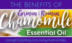 Benefits of German & Roman Chamomile Essential Oils